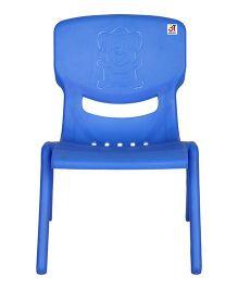 Abhiyantt Bear Shape Chair - Blue