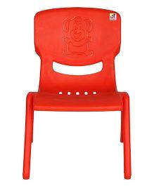 Abhiyantt Bear Shape Chair - Red