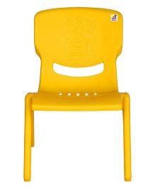 Abhiyantt Bear Shape Chair - Yellow
