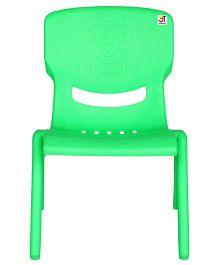 Abhiyantt Bear Shape Chair - Green