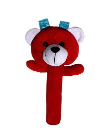 Amardeep Baby Teddy Rattle Red - 20 cm