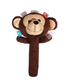 Amardeep Baby Rattle Monkey Brown - 30 cm