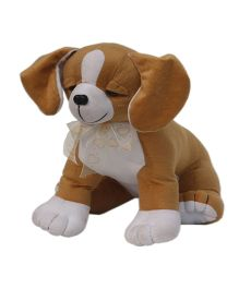 Amardeep Sitting Dog Brown - 25 cm