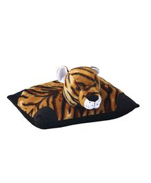 Amardeep Fun Pillow Tiger Brown - 4 Inches