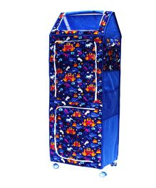 Amardeep Multipurpose Toy Box - Blue