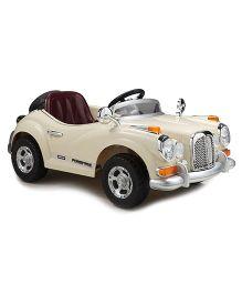 Marktech BWild Classique Ride On Car - Cream