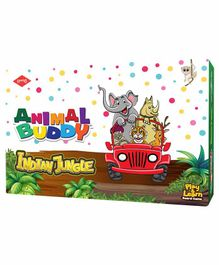 Kaadoo Animal Buddy India Edition Board Game - Multicolor
