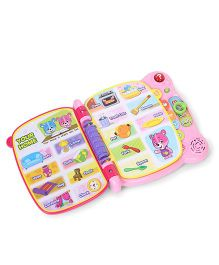 Vtech Baby Touch & Teach Word Book - Pink