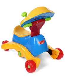 Vetech Baby 3 In 1 Smart Wheels - Blue Yellow