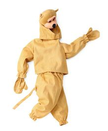 IR Jump Suits Monkey Theme Costumes - Brown
