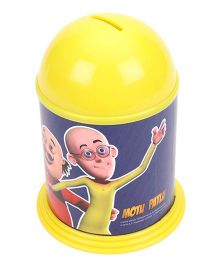 Motu Patlu Dome Coin Bank - Yellow