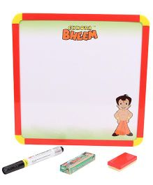 Chhota Bheem Dual Writing Board - Red Yellow