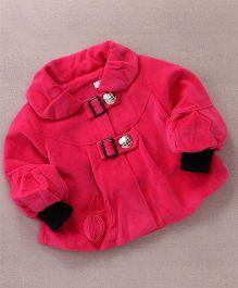 Superfie Stylish Winter Jacket - Hot Pink