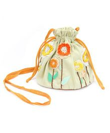 Mi Dulce An'ya Drawstring Purse For Girls - Yellow