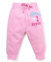 Doreme Full Length Track Pants Perfect Print - Light Pink