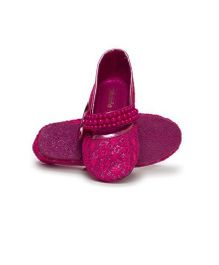 Pikaboo Essentials Pearly Mary Jane Shoes - Fuchsia