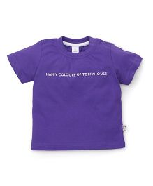 ToffyHouse Half Sleeves T-Shirt - Mauve