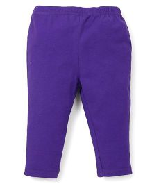 ToffyHouse Full Length Plain Leggings - Mauve