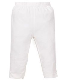 ToffyHouse Full Length Plain Leggings - Off White