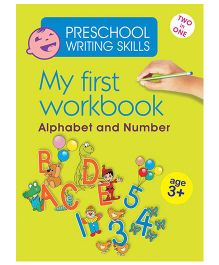 My First Workbook Alphabet And Number 2 In 1 - English