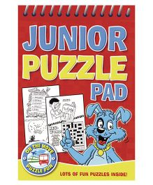 Junior Puzzle Pad Red - English
