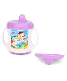 Morisons Baby Dreams Poochie Feeding Cup Purple 180 ml