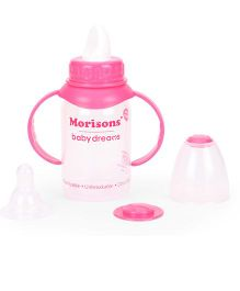 Morisons Baby Dreams Royal Feeding Bottle With Handle Pink - 125 ml