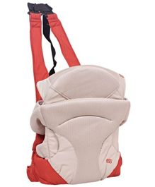 4 Way Baby Carrier Cream And Brown - 4008