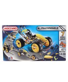 Meccano Model Set Cyber Vehicles Multicolor - 7 Models