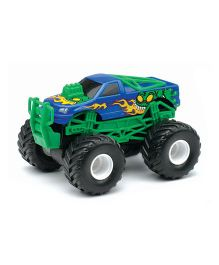 New Ray Die Cast Toy Monster Truck - Green (Colors May Vary)