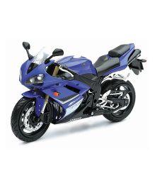 New Ray Toy Bike Die Cast Yamaha YZF-R1 Model - Blue