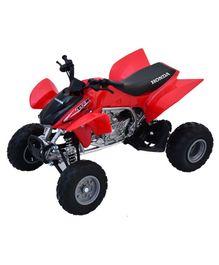 New Ray Die Cast Toy Bike Honda TRX- 450R - Red