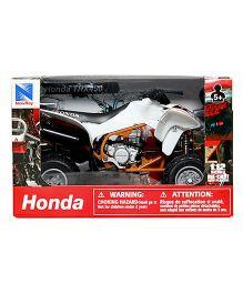 New Ray Die Cast Toy Bike Honda TRX- 450R - White