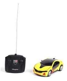 Radio Control Toy Car - Yellow