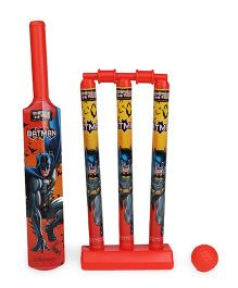 DC Comics Batman Cricket Set - Red