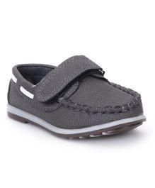 Cute Walk by Babyhug Casual Shoes - Grey