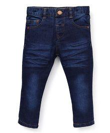 ToffyHouse Full Length Jeans - Dark Blue