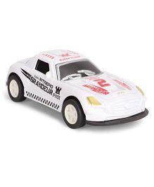 Die Cast Toy Car - White