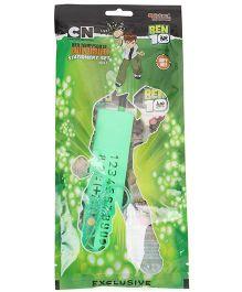 Sticker Bazaar Ben 10 Stationery Set Pack Of 7 - Green