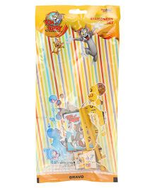 Sticker Bazaar Tom And Jerry Stationery Set - 7 Pieces