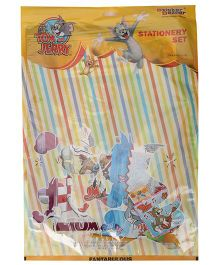 Sticker Bazaar Tom And Jerry Stationery Gift Set - Pack Of 8