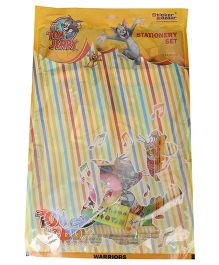Sticker Bazar Tom And Jerry Stationery Set Of 10 - Multi Color