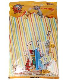 Sticker Bazaar Tom And Jerry Stationery Set - Pack Of 17