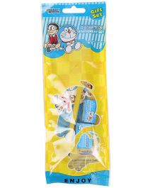 Sticker Bazaar Doraemon Stationery Set Pack Of 5 - Blue