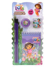 Sticker Bazaar Dora Stationery Set - Pack Of 6