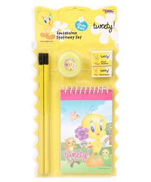Sticker Bazaar Tweety Stationary Kit Pack of 6 - Yellow