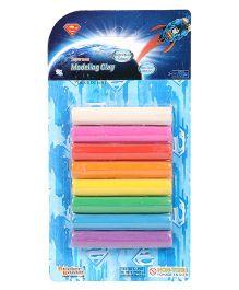 Sticker Bazar Super-Man Clay Set - Multi Color