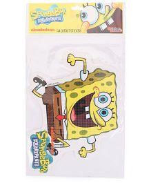 Sticker Bazaar SpongeBob A4 Size Cut Out Sticker - Yellow
