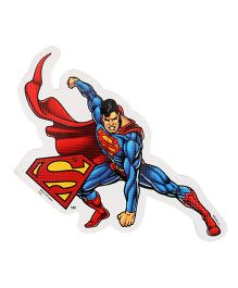 Sticker Bazaar Superman A4 Size Cut Out Sticker - Red & Blue