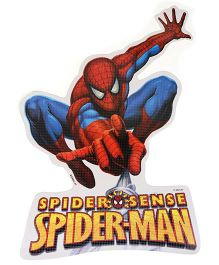 Sticker Bazaar Spider Man Cut-out A4 Size - Red Blue
